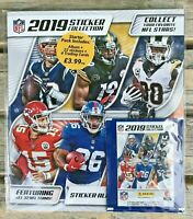 *NFL AMERICAN FOOTBALL OFFICIAL UK PANINI STICKER ALBUM 2019 2020 - SEALED NEW*