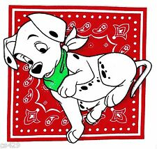 "7"" DISNEY DALMATIANS DOG FABRIC APPLIQUE IRON ON CHARACTER"