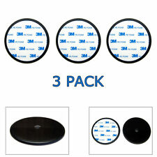 """3-Pack 80mm (3.15"""") Car Dash Dashboard Suction Cup Mount Disc Disk Pad For GPS"""