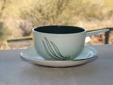 Carlton Ware c1960s Windswept Pattern Soup Bowl and Stand Australian Design