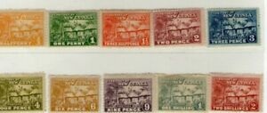 New Guinea Village Hut Stamps