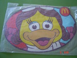 Mcdonald's Place mat New In Bag 44 Cm x 31 Cm