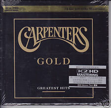 """Carpenters Gold Greatest Hits"" Japan K2HD 100KHz/24bit Mastering Audiophile CD"