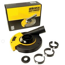 QuickT Universal Surface,Angle Grinder Dust Shroud 5 Inch - Dust Cover Collector