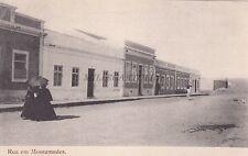 ANGOLA - Mossamedes - Rua em Mossamedes
