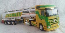 Herpa 1 : 87 mercedes benz actros lh 08 sz 'thommen' chrome tanker