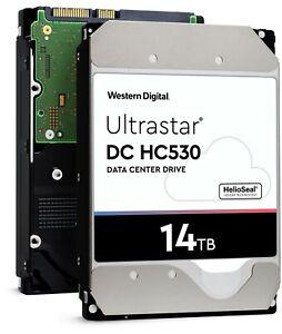 WD Ultrastar DC HC530 14TB SATA 3.5-Inch Enterprise Hard Drive — WUH721414ALE604