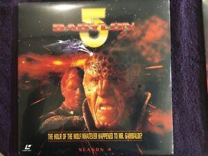 babylon 5 laser disc season 4 episode episode 1,2,3