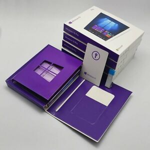Microsoft Windows 10 Pro USB Flash Drive Retail New Box 64/32-Bit Sealed