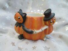 Yankee Candle Halloween Pumpkin Pals Votive / Tealight Holders Cats