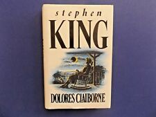 | @Oz |  DOLORES CLAIBORNE By Stephen King (1992), Large Hardcover