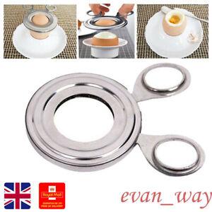 Egg Open Scissors Topper Cutter Shell Opener Boiled Raw Stainless Steel Kitchen