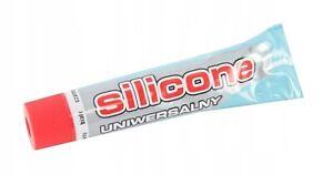 Silikonkleber universal Tube Transparent Weiß Schwarz Dichtmittel Kleber Silikon