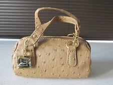 Lori Greiner Bolso del teléfono móvil titular / Cartera Mini Fashion Brown Bag Nuevo / millones de EUR