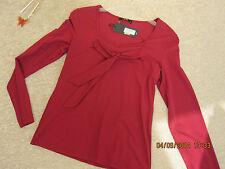 Rotes Langarm 5Shirt,  gr. S  oder in gr. M, neu, Super Qualität !
