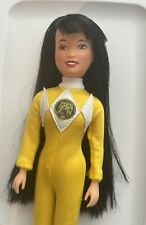 "1994 Vintage TRINI 9"" YELLOW POWER RANGER Doll: Mighty Morphin Power Rangers"