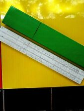 Logarithmic ruler Darmstadt Logarex,slide Ruler with case,made in Сzechoslovakia