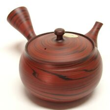 Japanese teapot Tokoname Kyusu Hand-crafted by Potter Tosen 8 fl oz (240ml)