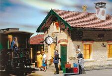 Pola 330973 Bahnhofsuhr beleuchtet