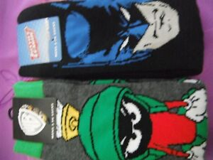 Mens Charcter Socks Size 8-13 3 x Justice League 3 x Warner Brothers
