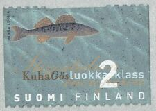 Finland 1998 MNH Stamp - Pike Pike-Perch Fish - Metallic Colors