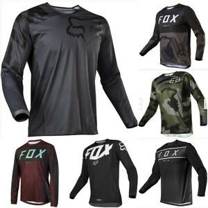 NEW Men's FOX Dirt Jersey ATV MX Off-Road Motocross DH MTB Bike 180 Racing Tops