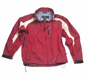Obermeyer Mens Snow Ski Activewear Jacket Waterproof Red Black