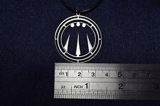 Awen Druid amulet Necklace Symbol Pendant Keychain Logo Emblem druids Choker