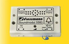 Viessmann 5560 Soundmodul Kirchenglocken #NEU in OVP#