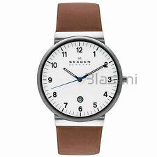 Skagen Original SKW6082 Men's Ancher Brown Leather Watch 40mm
