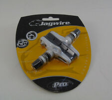 Genuine Jagwire Pro Cross Lite Cartridge Brake Pads, 1 Pair, White,  Brand New
