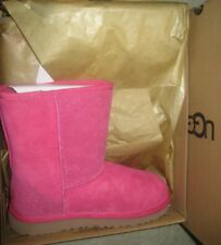 New UGG Australia Classic Short Serein Pink Boots Youth Size 4Y