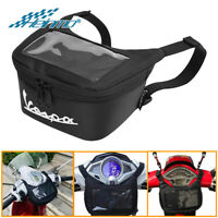 Motorcycle Waterproof Front Tool Storage Bag For Vespa GTS LX LXV Sprint 50 New