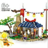 TEMPLO MAESTRO ROSHI - BLOQUE DE DRAGON BALL - COMPATIBLE LEGO - 455 PIEZAS