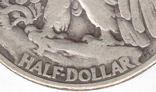 1942 Cherry Pickers FS-801 DDR #1 Walking Liberty Half Dollar Silver Coin