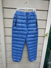 Rare North Face Goose Down Pants XL Gore Dry Loft Summit Series Vintage X-Large