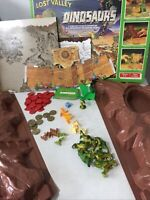 VINTAGE LOST VALLEY OF THE DINOSAURS BOARD GAME 1985 Incomplete