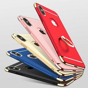 RingHolder Shockproof Hybrid Phone Case for iPhone 6S 7 8 SE20 XR 12 11 PROMAX