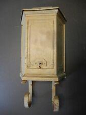 """Antique Brass Tudor Mailbox, 13""""x9"""""""
