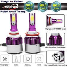 H11 LED Headlight 988W Conversion Kit Car Cree Fog Beam Bulbs Driving Lamp H9 H8