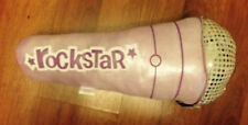 PILLOW MICROPHONE PURPLE METALLIC ROCKER AWESOME for a youngster or Rec-Room
