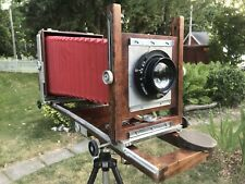 Burke & James 8x10 Large Format Camera w/Bausch & Lomb 298.5 Lens