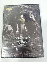 Il Labirinto del Fauno DVD Guillermo del Toro Spagnolo English Nuovo - Am
