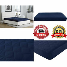 Sealed 6 Quilted Mattress Full Size Polyester Filled Home Bedroom Furniture New