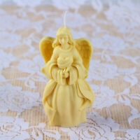 3D Angel Silicone Candle Mold Soap Cake Candy Baking Church Molud DIY Handmade