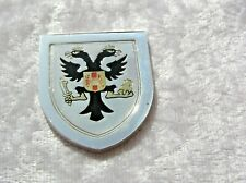 THE COATS OF ARMS OF THE GREAT MONARCHS INGOT FRANCIS JOSEPH FRANKLIN MINT