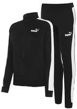 PUMA Womens Black Fleece Tracksuit UK Size 12 *REF163