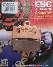 EBC/FA606HH Sintered Brake Pads (Front)  KTM Duke 125/200/390, RC125/RC200/RC390