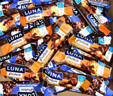 60 Assorted Flavors - LUNA Protein - 12g Protein Bar - Low Glycemic Gluten Free