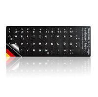 LEDELI Tastaturaufkleber Tastatur Aufkleber Keyboard Sticker QWERTZ Deutsch Germ